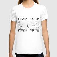 boob T-shirts featuring Boob Freckles by brittanylongdotcom
