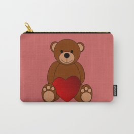 Teddy Love Carry-All Pouch