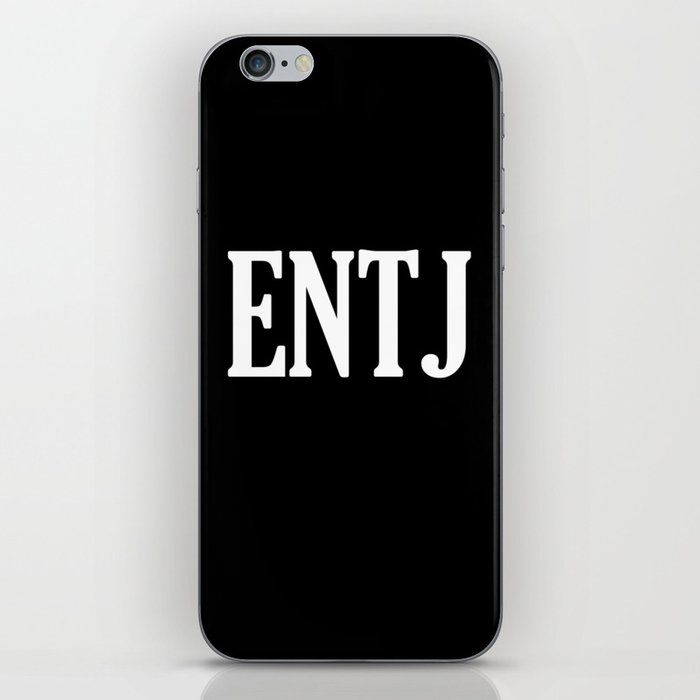 ENTJ Personality Type iPhone Skin