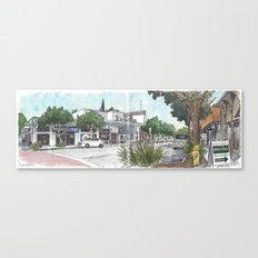 Second Street, Davis Canvas Print
