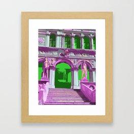 Doge's Palace Venice Steps Framed Art Print