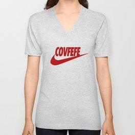 Covfefe [RED] Unisex V-Neck