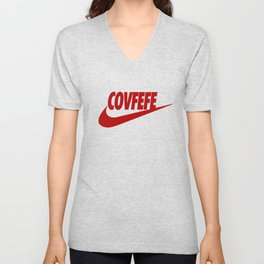 Covfefe [RED] Unisex V-Neck