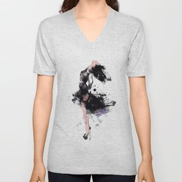 Fashion Painting #1 Unisex V-Neck