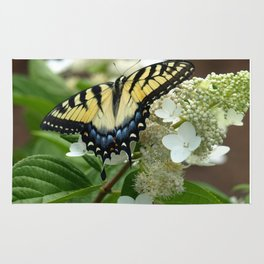 Yellow Tiger Swallowtail Rug