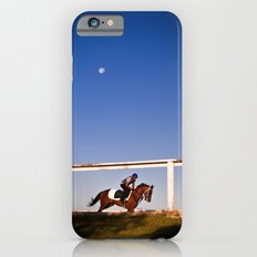 A rider and a horse iPhone 6s Slim Case