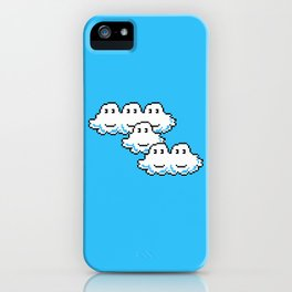 Super Mario Clouds iPhone Case