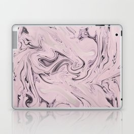 Retro Style Marble Soft Pastel Laptop & iPad Skin