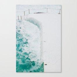Bondi Icebergs 02 Canvas Print