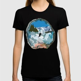 The Skier T-shirt