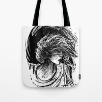 florence Tote Bags featuring Florence by Kate Plourde