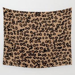 Digital Leopard Wall Tapestry