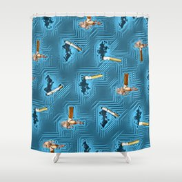 No Smoking Day. Shower Curtain