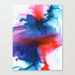 The Dancer - Abstract Art Canvas Print