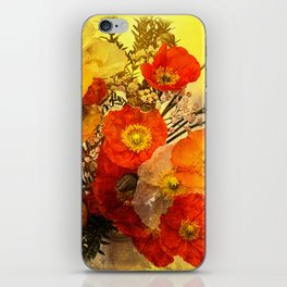 Poppy Expressions iPhone Skin