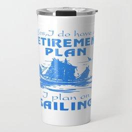 SAILING PLAN Travel Mug