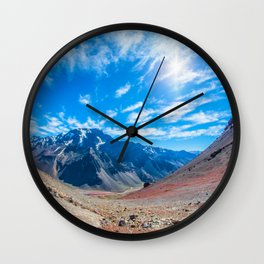 Mendoza, Argentina Wall Clock