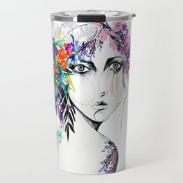 Exotic Girl Travel Mug