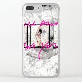 I WILL ALWAYS LOVE YOU Clear iPhone Case