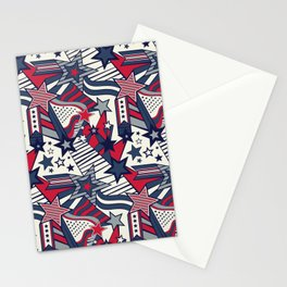 Vintage Patriotism Stationery Cards