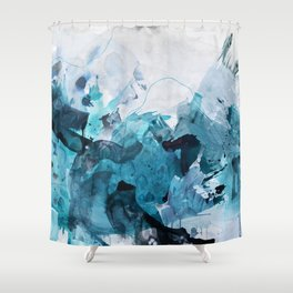 On My Shoulders Shower Curtain