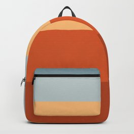 Sunrise Fade Red Backpack