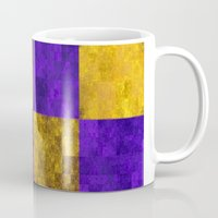 lakers Mugs featuring LA-kers by Ramo