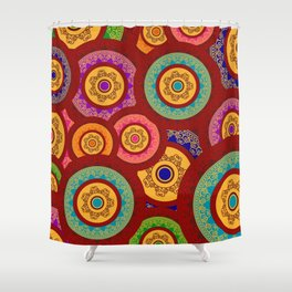 Indian pattern Shower Curtain