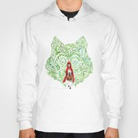red riding hood Hoodies featuring Red Riding Hood by Stephane Lauzon