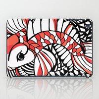 sassy iPad Cases featuring Sassy Koi by Marcy Murakami