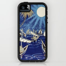 MOON SHIP iPhone Case