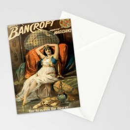 Vintage poster - Frederick Bancroft, Prince of Magicians Stationery Cards