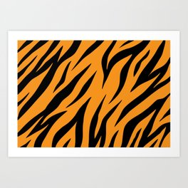 Tiger background #society6 #decor #buyart #artprint Art Print