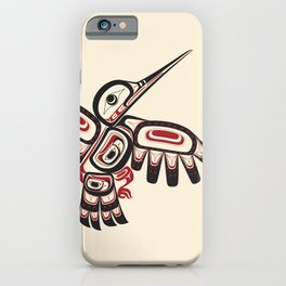 Salish Coast Humming Bird iPhone Case