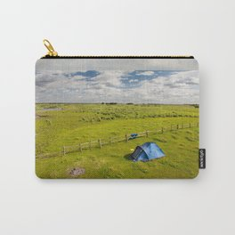 Camping tent and grass expanse Carry-All Pouch