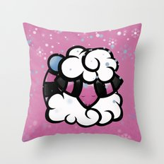 Silent Night: Flaaffy Throw Pillow