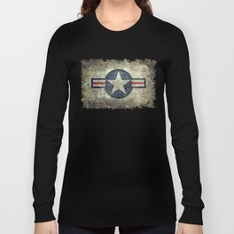 US Air force style insignia V2 Long Sleeve T-shirt