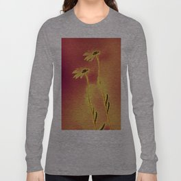 Two Daisies Long Sleeve T-shirt