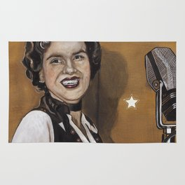 Patsy Cline Rug