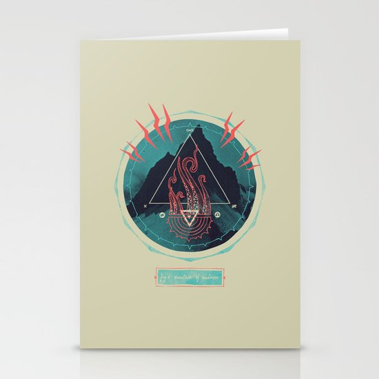 Mountain of Madness Stationery Cards