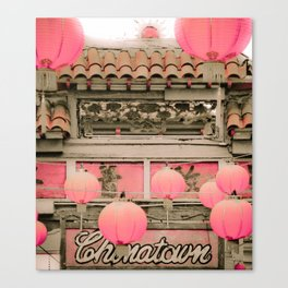 Los Angeles Chinatown Sign Canvas Print