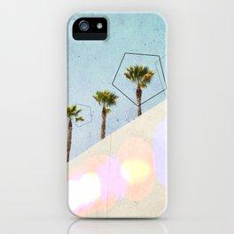 Levitated Mass (Blue) iPhone Case