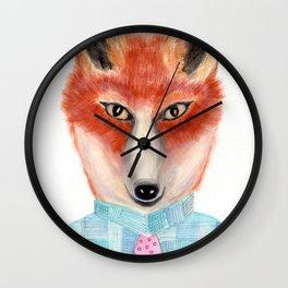 Filbert the Fox Wall Clock