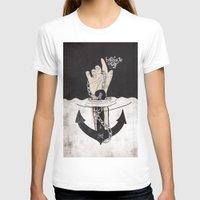 bondage T-shirts featuring Bondage of self by kernmistress