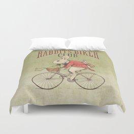 Rabbits Biker Club Duvet Cover
