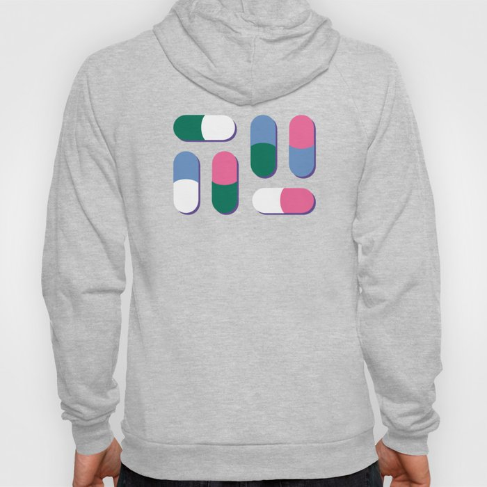 Colorful pills Hoody