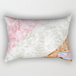 Ice Stripes Rectangular Pillow