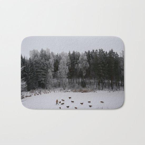 Winter's Tale Bath Mat