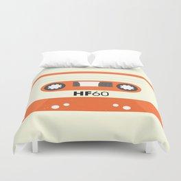 Orange Cassette #1 Duvet Cover