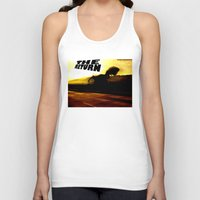 return Tank Tops featuring THE RETURN by Design Gregory